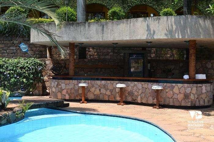 Piscina do Quarto do Hotel Canto das Águas