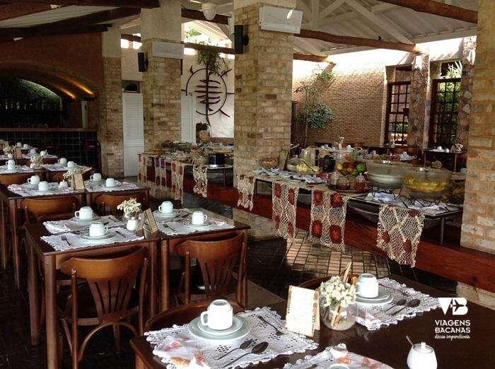 Restaurante do Hotel Canto das Águas