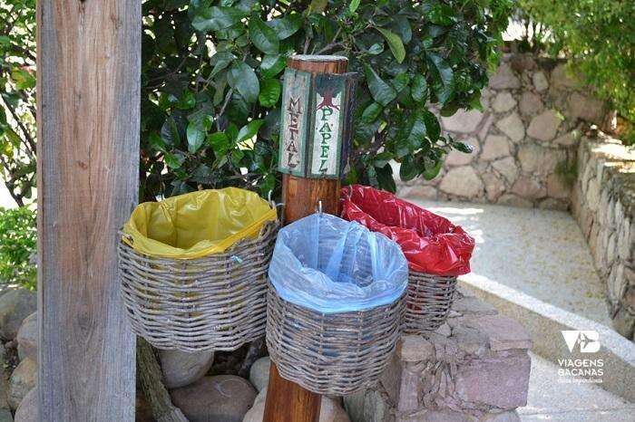 Sustentabilidade no Hotel Canto das Águas