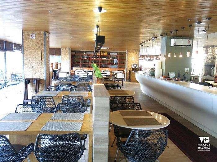 Mesas no Restaurante Olegário