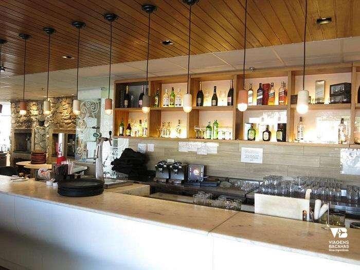 Bar no Restaurante Olegário