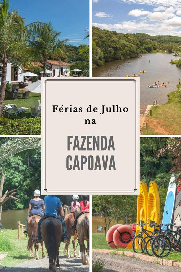 Ferias de Julho na Fazenda Capoava