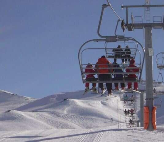Lift em Valle Nevado