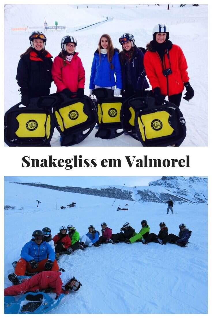 Snakegliss em Valmorel
