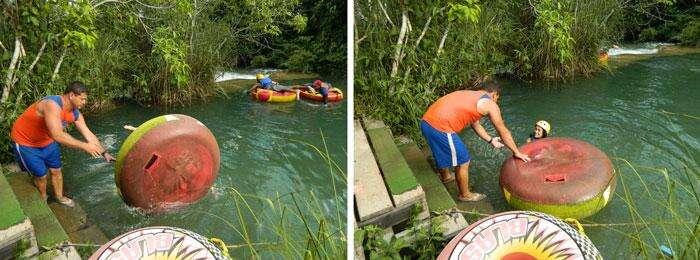 Batismo no Rio Formoso