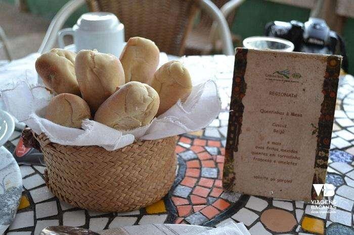 Café da Manhã do Hotel Canto das Águas