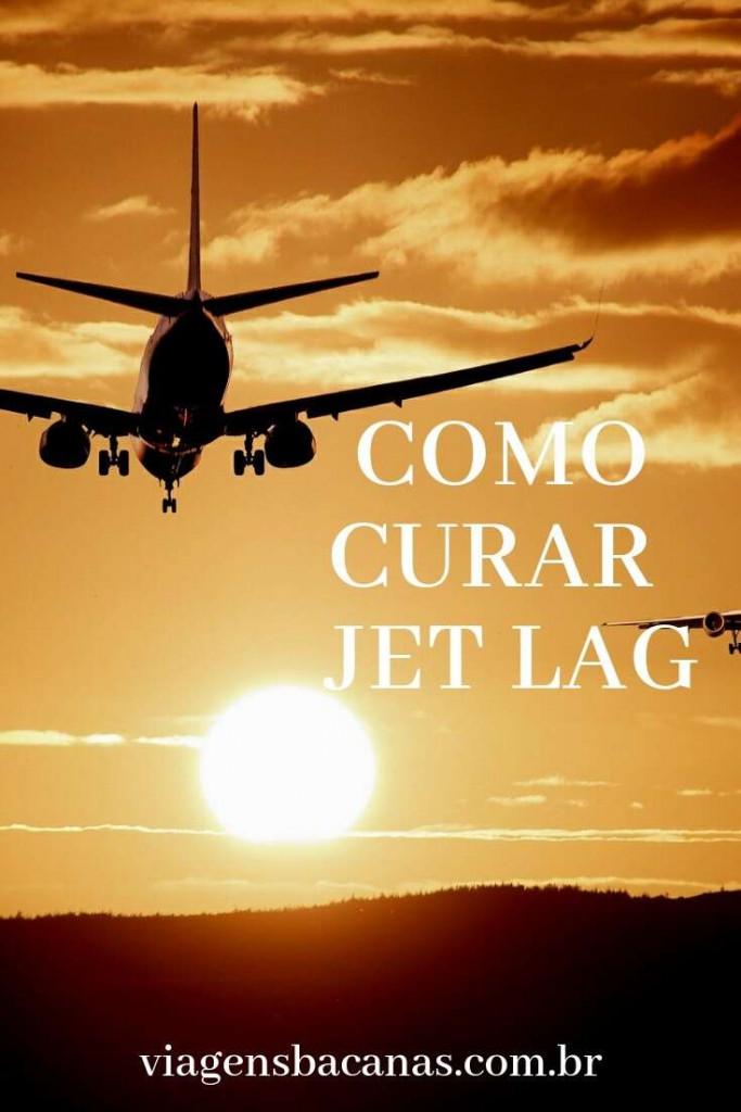Maneiras para curar o Jet lag - Viagens Bacanas