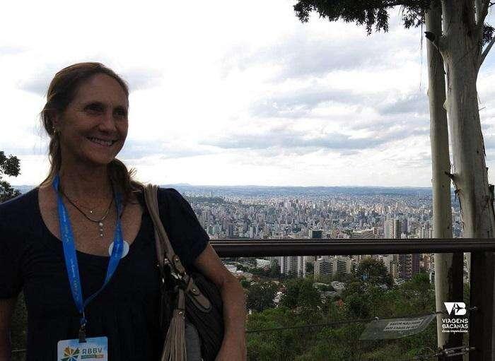 Foto no Mirante do Mangabeiras