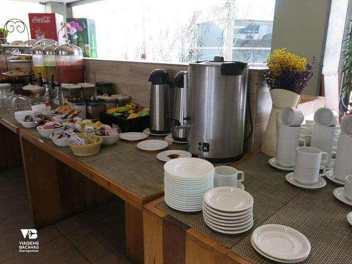 Café da manhã no Quality Hotel Pampulha