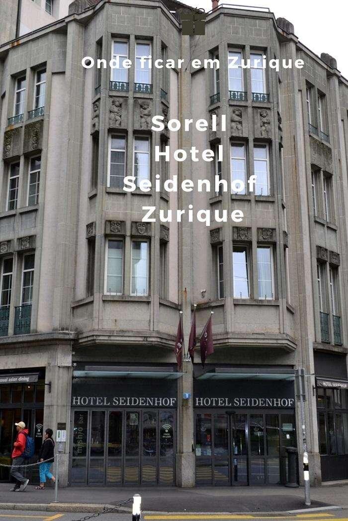 Onde ficar em Zurique Sorell Hotel Seidenhof