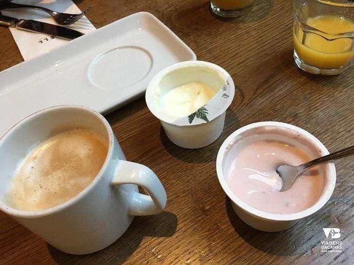 Café da manhã no Sorell Hotel Seidenhof