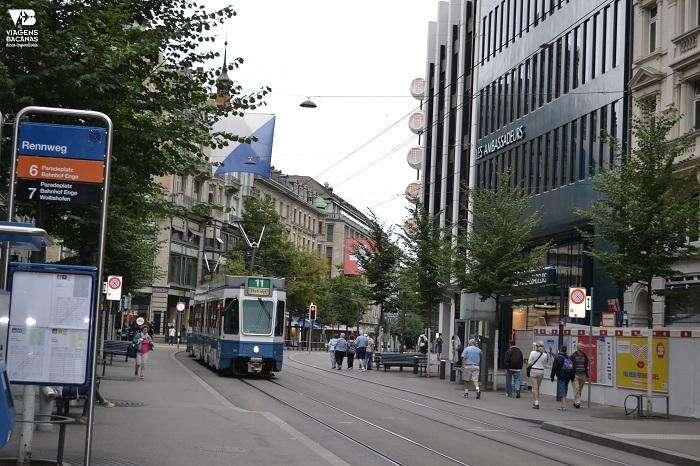 Tram 11 Zurique