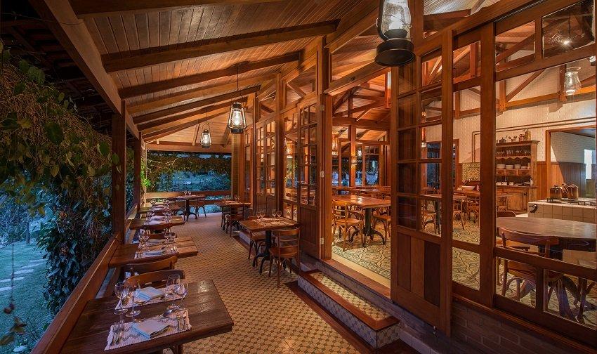 Restaurante do Parador Lumiar - Viagens Bacanas