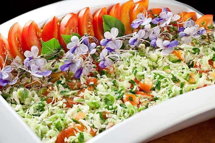 Salada do Parador Lumiar - Foto Credito Rodrigo Azevedo