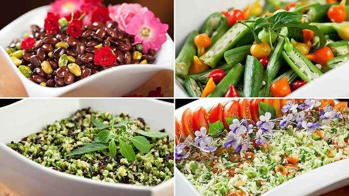 Saladas do Cozinha do Parador - Fotos Credito Rodrigo Azevedo
