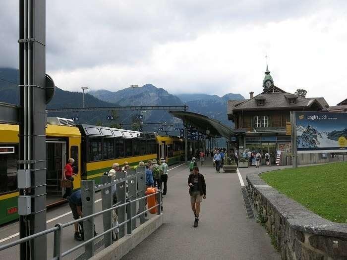 Estação de trem de Wengen