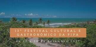 13º Festival Cultural e Gastronômico da Pipa