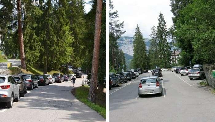 Estacionamento no Caumasee