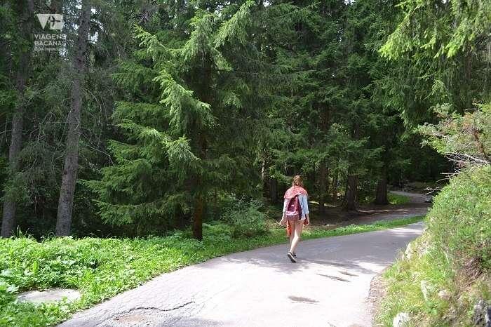 Caminho para o Caumasee