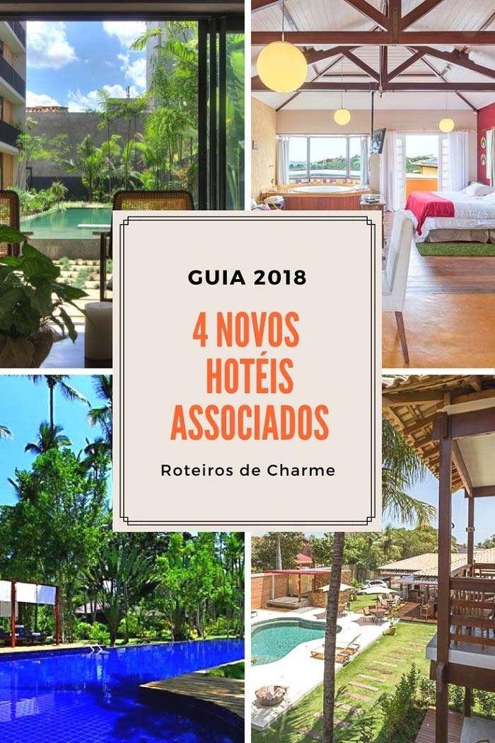 Novos Hotéis Associados Roteiros de Charme 2018