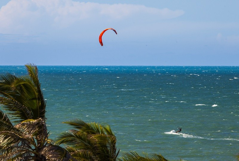 Kitesurf no Carmel Cumbuco