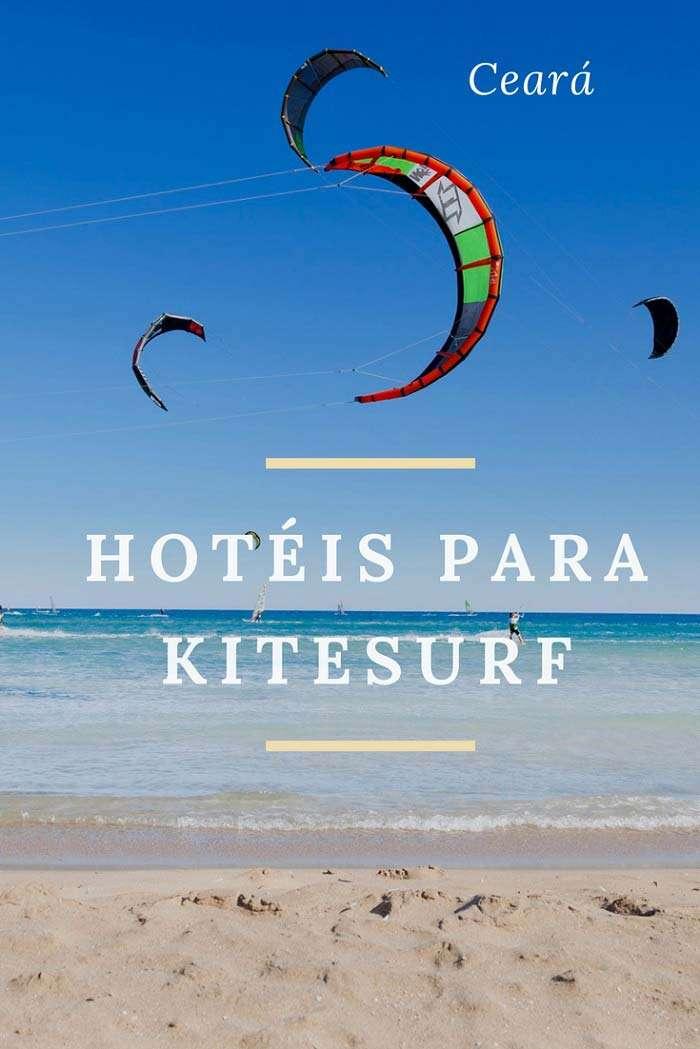 Hotéis para Kitesurf no Ceará