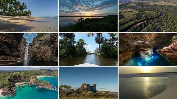 Lugares Paradisíacos no Brasil