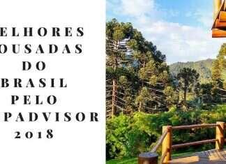 Melhores Pousadas do Brasil pelo TripAdvisor 2018