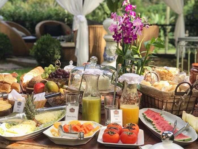 Café da manhã da Fazenda União