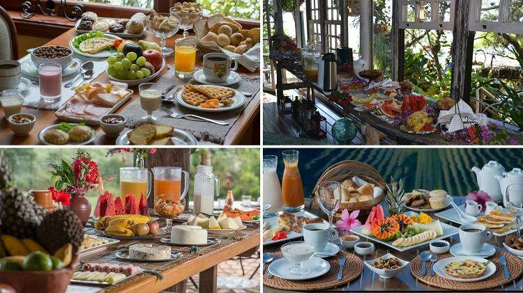 Hotéis com Café da Manhã