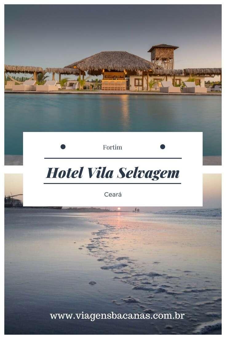 Piscina do Hotel Vila Selvagem
