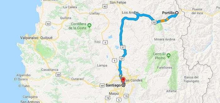 Santiago - Portillo