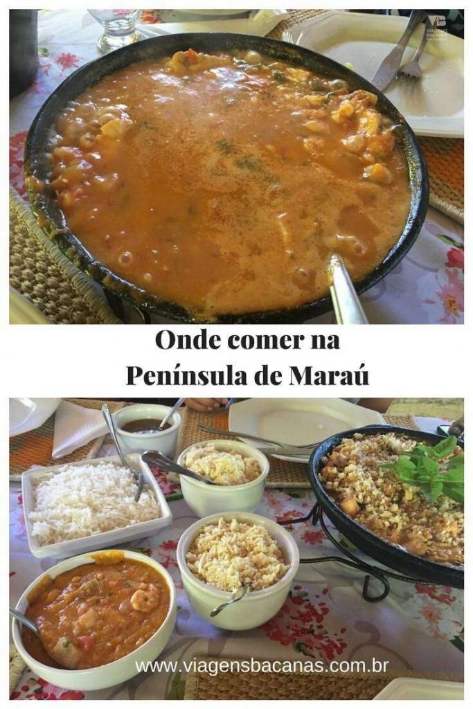 Onde Comer na Península de Maraú