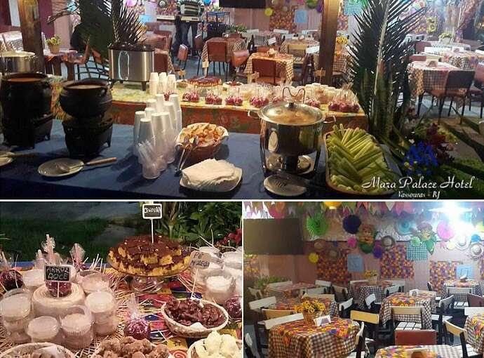 Festa Junina no Mara Palace Hotel