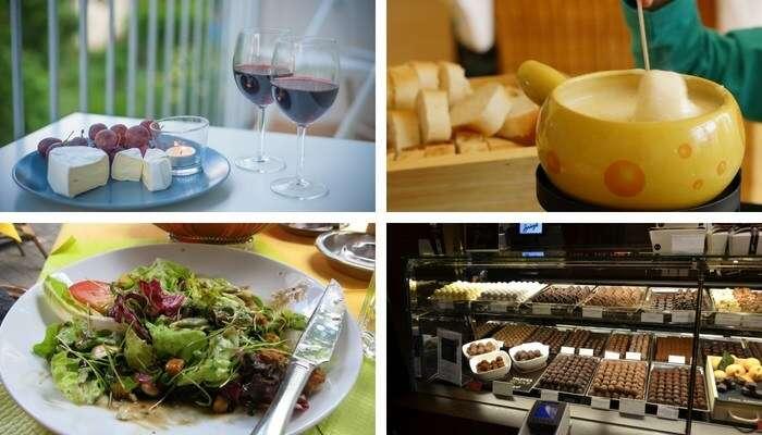 Bebidas e comidas na Suíça
