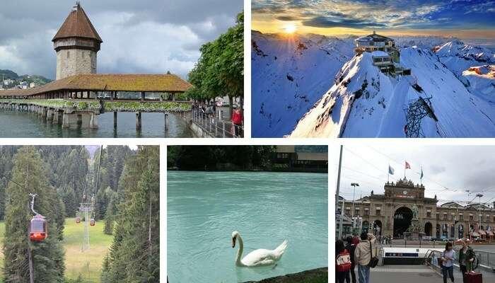 Turismo pela Suíça