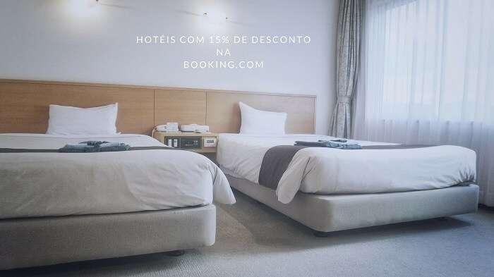Descontos em Hotéis na Booking.com