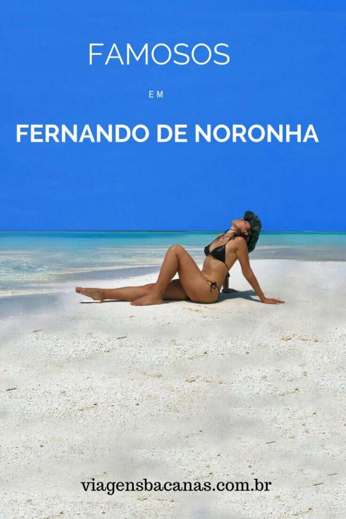 Famosos em Fernando de Noronha
