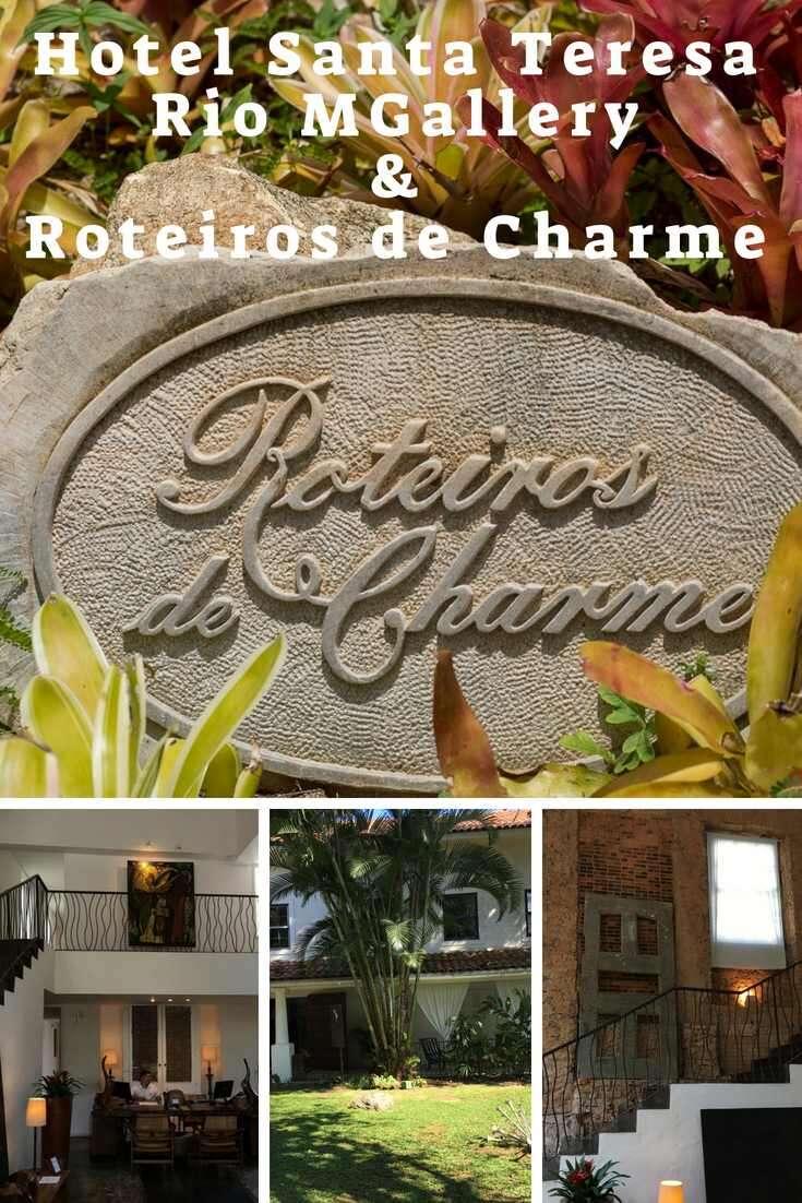 Hotel Santa Teresa e Roteiros de Charme