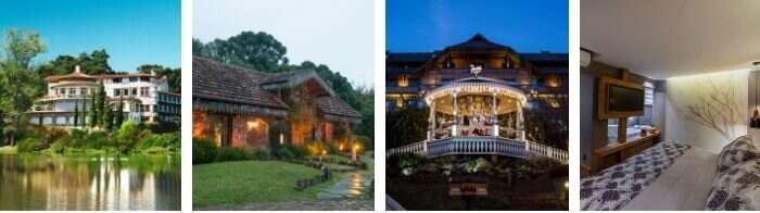 Hotéis em Gramado - Viagens Bacanas