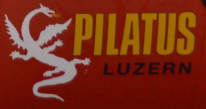 Pilatus logo dragão
