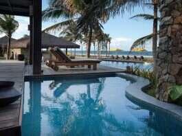 Piscina privativa do Zorah Beach Hotel
