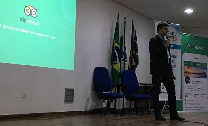 Palestra do TripAdvisor no ERBBV em Curitiba