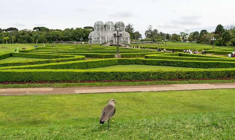 Jardim Botânico de Curitiba - Foto crédito Jair Prandi