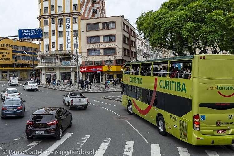 Linha Turismo Curitiba - Blog Gastando Sola Mundo Afora