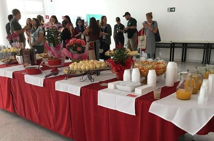 Café da manhã oferecido pelo Mercado Municipal de Curitiba