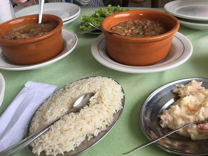 Restaurante Madalozo em Morretes