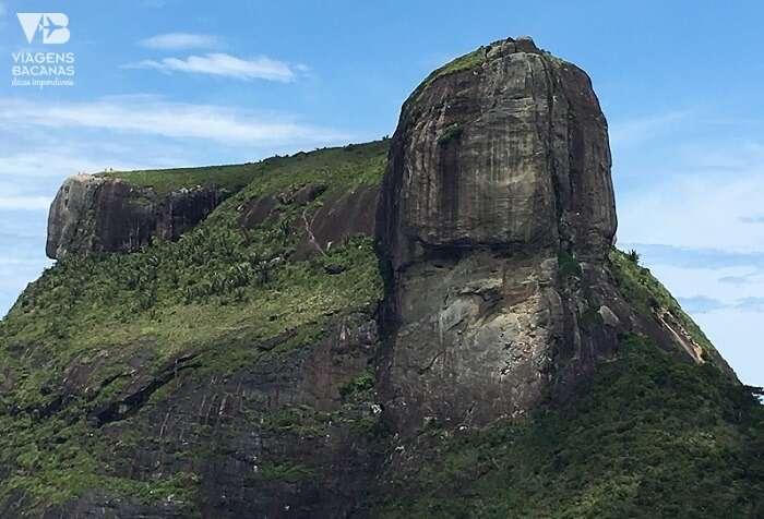 Vista do topo da Pedra Bonita para a Pedra da Gávea