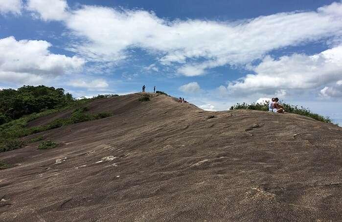 Platô no topo da Pedra Bonita