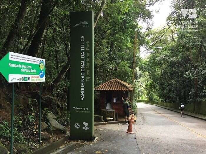 Guarita de entrada para a Pedra Bonita - Viagens Bacanas